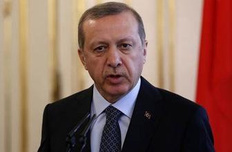 Erdoğan'dan flaş açıklama! Türkiye'nin şanına...