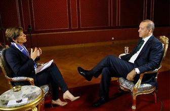 Erdoğan CNN'e anlattı : 15 dakika daha kalsam...