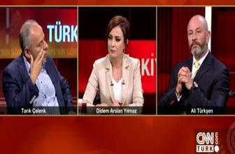 Tarık Çelenk ile Ali Türkşen arasında 'Atatürk' tartışması