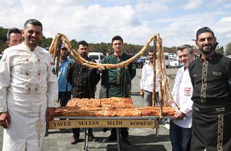 Yavuz Selim Köprüsü'nün 'böreği' açılışa hazır