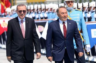 Nazarbayev Ankara'da açıkladı Kazakistan'daki FETÖ okulları...