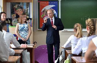 Putin'den lise öğrencilerine liderlik dersi