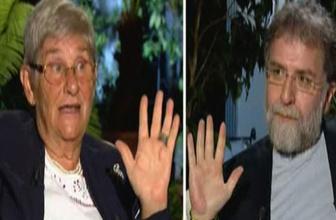 Canan Karatay, Ahmet Hakan'ın elindeki kırmızılığı görünce...