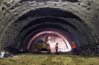 İzmir-Manisa'yı 15 dakikaya indiren tünel