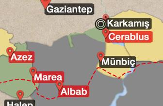 Fırat Kalkanı son durum Erdoğan doğruladı TSK oraya giriyor
