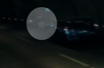 Tünelde inanılmaz kaza kamerada!