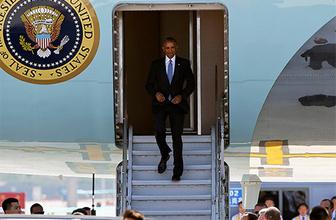 Obama'ya Çin'de düşük profilli karşılama