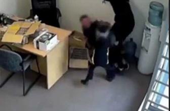 6 yaşındaki kız baltalı soyguncuya kafa tuttu!