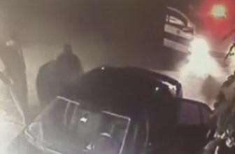 Kar maskeli hırsızlar polisten kaçamadı!