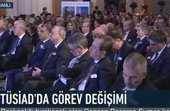TUSİAD toplantısında Başkan konuştu, üyeler horul horul uyudu