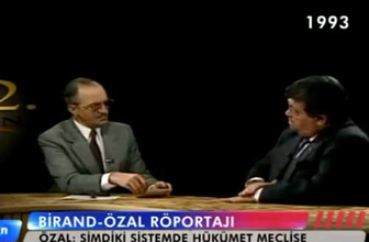 Turgut Özal'dan başkanlık sistemi önerisi- Yıl 1993