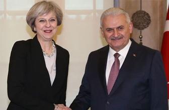 Binali Yıldırım ve Theresa May'den ortak açıklama