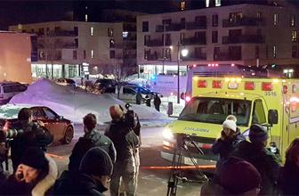 Kanada'da camiye silahlı saldırı ölü ve yaralılar var