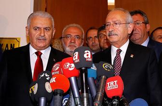 Başbakan Yıldırım Kılıçdaroğlu'na hangi dosyayı verdi!