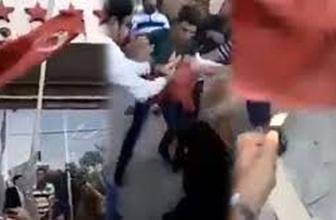 Erbil'de çirkin provokasyon! Türk bayrağını...