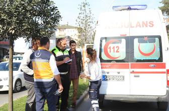 Sakarya'da ambulansın çarptığı çocuk yaralandı
