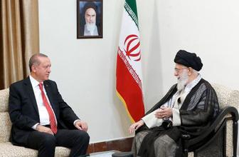 İran'ın dini lideri Hamaney Erdoğan'a bunları söyledi