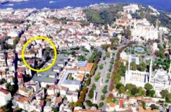 İstanbul'un göbeğinde gizemli saray
