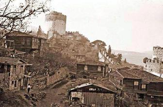 Rumelihisar'ın kayıp mahallesi gün yüzüne çıkarılıyor