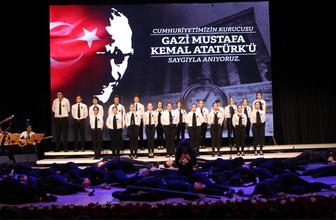 Cemal Reşit Rey'de Atatürk'ü anma töreni