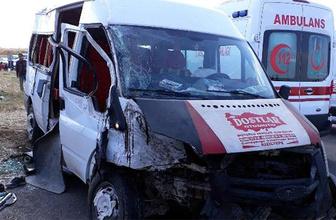 Öğrenci servisi kaza yaptı: Ölü ve yaralılar var!
