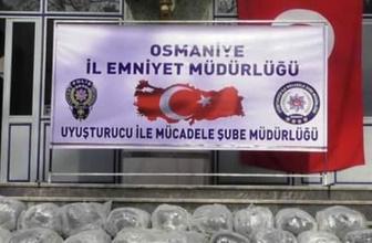 Osmaniye'de zehir tacirlerine baskın