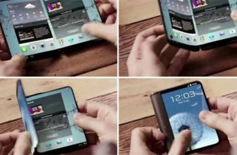 İlk katlanabilir telefon Samsung Galaxy X