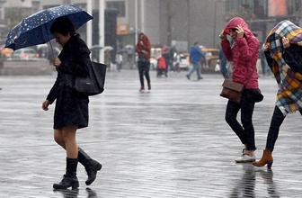 Aydın'da şiddetli yağış 5 günlük ve saatlik tahmin