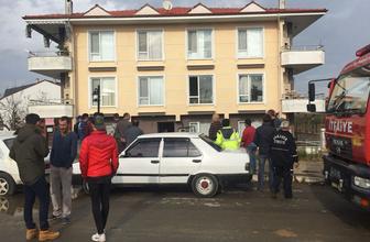 Sakarya'da korkunç patlama 16 daire hasar gördü