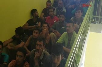 Ağrı'da 294  mülteciye gözaltı
