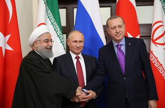 Soçi'de 'Üçlü Suriye Zirvesi' başladı