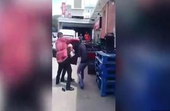 Sevgilisi ile yakalanan adam hamile karısını dövdü