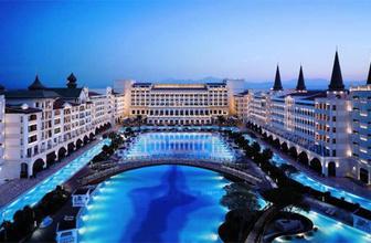 Mardan Palace Hotel'in elektriği de kesildi!