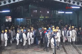 Zonguldak'ta maden işçileri ocaktan çıkmama eylemi başlattı