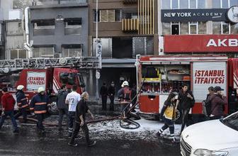 Beşiktaş'ta korku dolu anlar: Alevlere teslim oldu!