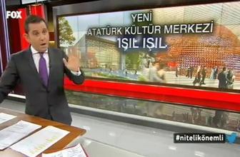 Fatih Portakal AKM projesinden memnun
