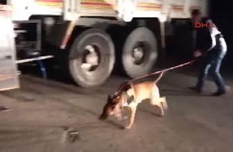 Van'da park halindeki kamyonda 59 kilo eroin ele geçirildi