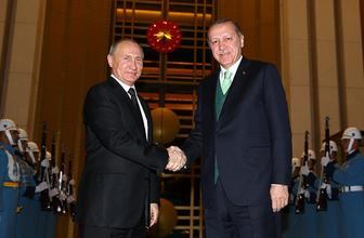 Erdoğan-Putin görüşmesinde 'Kudüs' vurgusu