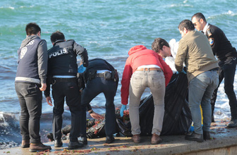 Kadıköy'de sahile ceset vurdu!