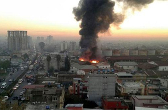 Adana'da korkutan yangın: Alevler paniğe neden oldu!