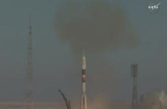 Soyuz MS-07 uzay aracı Kazakistan'dan fırlatıldı