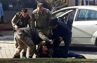 Teröristi böyle yakaladılar! Görüntüyü vatandaş çekti