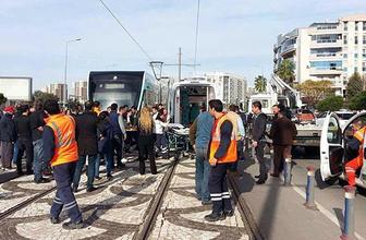 Tramvayın çarptığı kadın hayatını kaybetti!