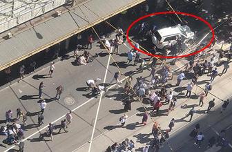 Araç kalabalığın arasına daldı! Çok sayıda yaralı var