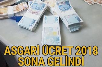 Asgari ücret 2018 ne kadar olacak TİSK asgari ücret önerisi