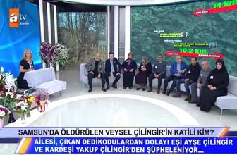 Müge Anlı Veysel Çilingir'in katili kim Yakup Çilingir stüdyoyu terk etti
