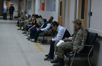 Hastaneye kaldırılan 44 asker taburcu edildi