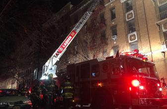 ABD'de binada yangın faciası: 12 ölü