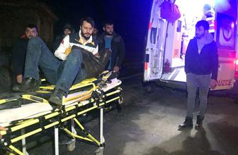 Kazada yaralandı hastaneye götürülürken ikinci kaza geçirdi