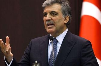 Abdullah Gül'den Erdoğan'ın KHK sitemine flaş cevap!